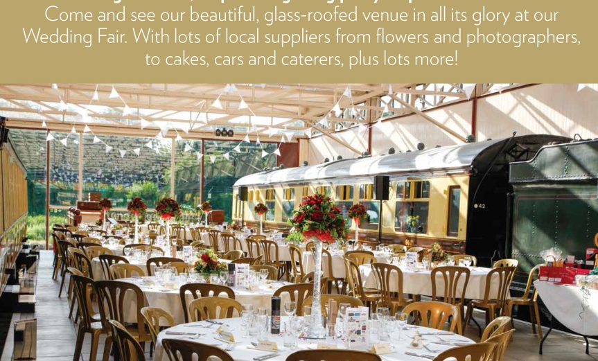 Wedding Fair 12th November Bucks Rail Centre Quainton